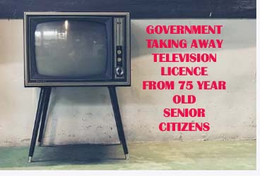 Television Licence For Over 75 To be Withdrawn